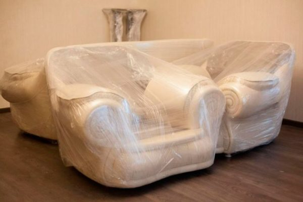 Упаковка мебели