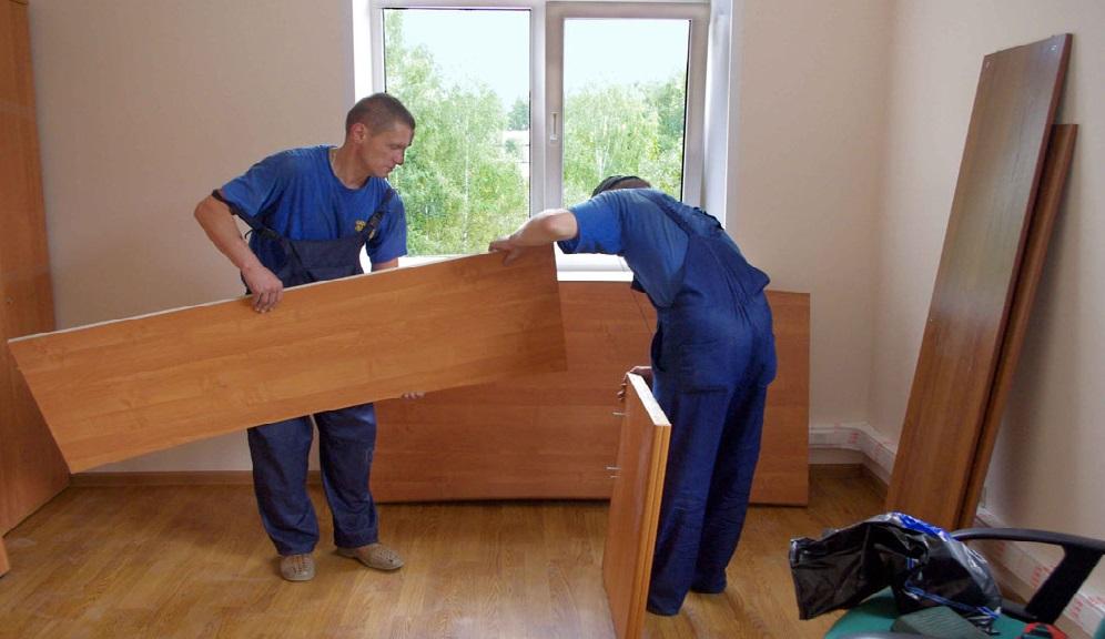 Сборка разборка мебели